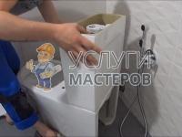 Монтаж унитаза в туалете