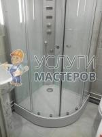 Монтаж душевой в ванной