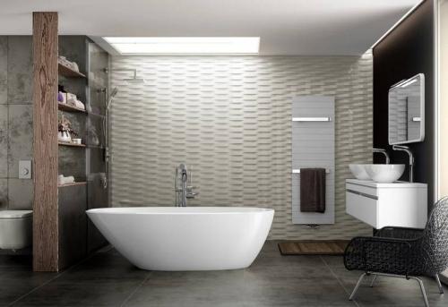 Дизайнерский ремонт ванной комнаты в Москве