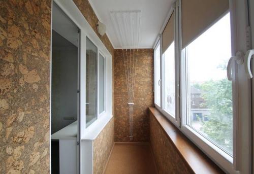 Капитальный ремонт балкона и лоджии в Москве