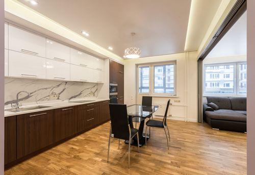 Капитальный ремонт трехкомнатной квартиры в Москве
