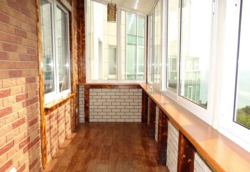 Косметический ремонт балкона и лоджии в Москве
