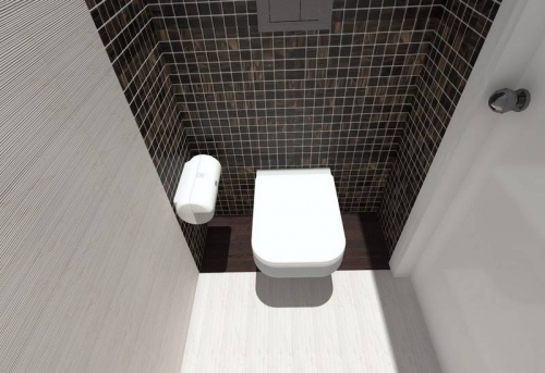 Косметический ремонт туалетной комнаты в Москве