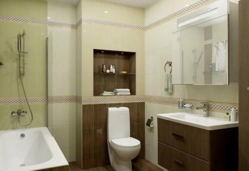 Косметический ремонт ванной комнаты в Москве