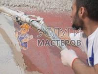 Механическая штукатурка стен в Москве