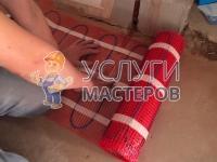 Монтаж и подключение электрического теплого пола