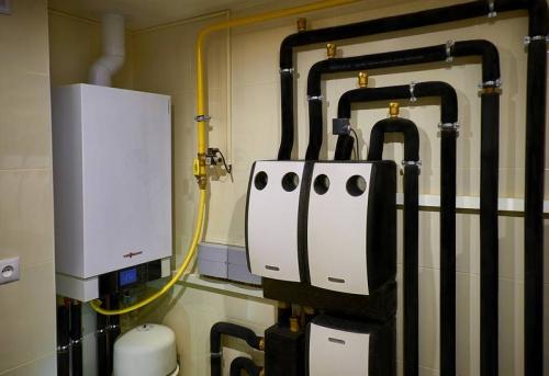 Монтаж газового отопления в Москве