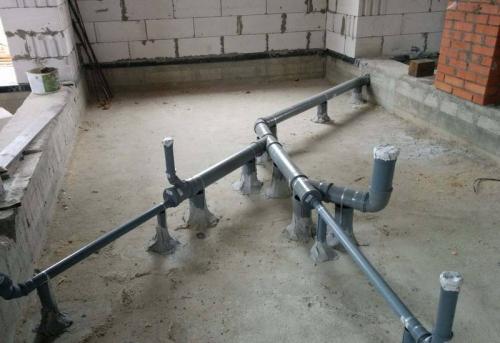 Монтаж канализации в частном доме в Москве