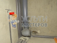 Монтаж канализации в санузле