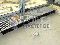Монтаж и подключение конвектора отопления