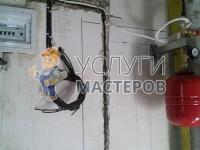 Монтаж котла отопления