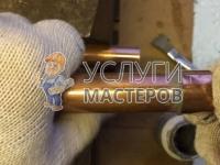 Монтаж и укладка медных труб