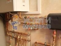 Протяжка медных труб для систем отопления