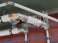 Монтаж металлопластиковых труб в частном доме