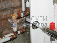 Монтаж металлопластиковых труб на кухне
