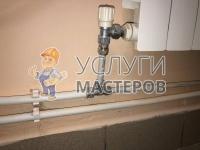 Монтаж металлопластиковых труб в санузле