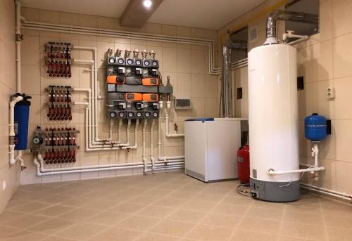 Монтаж отопления в коттедже в Москве