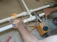 Укладка полипропиленовых труб в частном доме