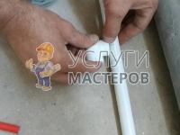 Укладка полипропиленовых труб в санузле