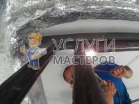 Монтаж стальных труб газовсваркой