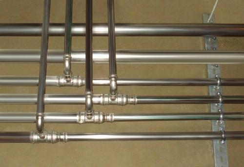 Монтаж стальных труб отопления в Москве