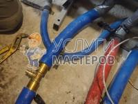 Монтаж труб из сшитого полиэтилена для отопления