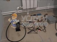 Опрессовка труб системы отопления