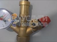 Опрессовка труб отопления в доме
