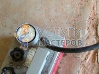 Опрессовка системы отопления в доме