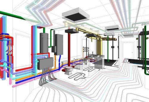 Проектирование отопления в квартире в Москве