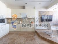 Дизайнерский ремонт трехкомнатной квартиры в Москве