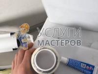 Ремонт арматуры сливного бачка