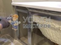 Косметический ремонт ванной комнаты под ключ