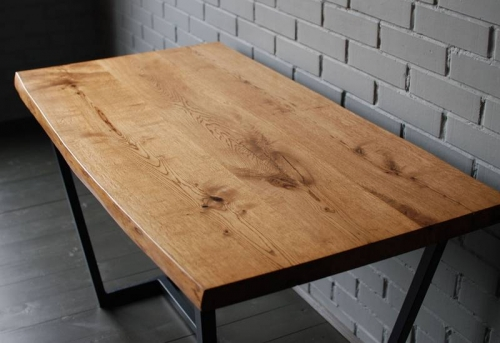 Сборка деревянного стола в Москве