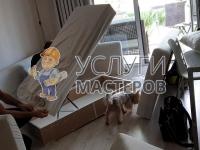 Сборка углового дивана
