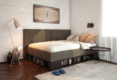 Сборка кровати подиума в Москве