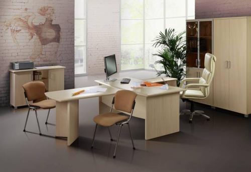 Сборка мебели в малом офисе в Москве