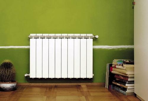 Установка алюминиевого радиатора отопления в Москве