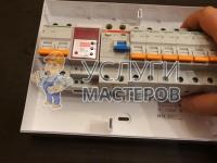 Установка автоматов в электрощиток
