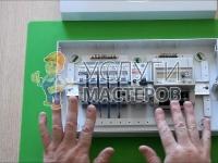 Установка и подключение автоматов в щитке