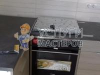 Монтаж газового духового шкафа