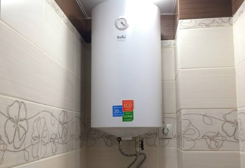 Установка электрического водонагревателя в Москве