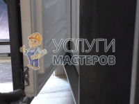 Установка большого холодильника