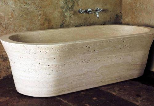 Установка ванны из искуственного камня в Москве