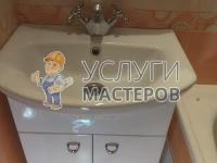 Монтаж мойдодыра в ванной