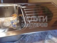 Монтаж мойки на кухне
