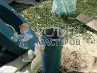 Монтаж скважинного насоса для воды