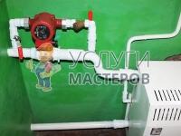 Установка и подключение насоса отопления