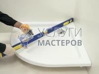 Монтаж душевого поддона в ванной