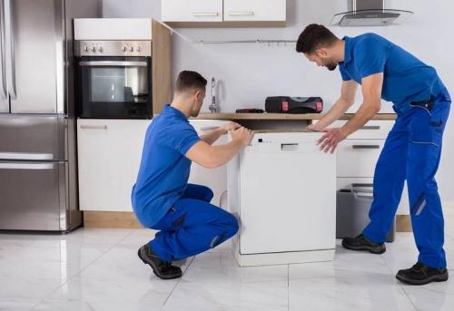 Установка посудомоечной машины на готовую подводку в Москве